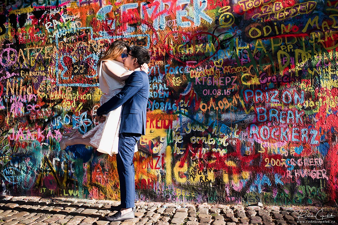 Prewedding in Prague