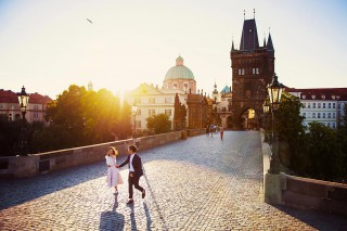 Prewedding photography of Kung & Nat in Prague