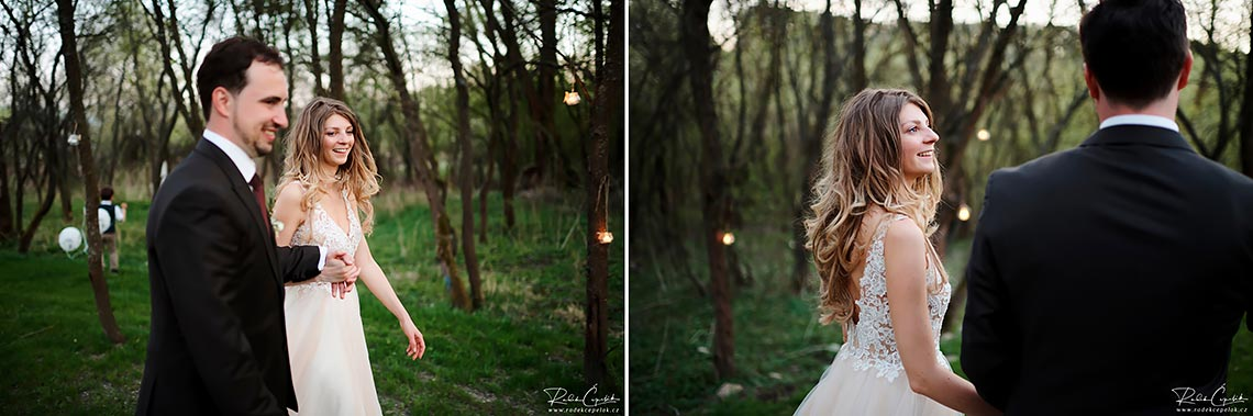 forest background wedding photography