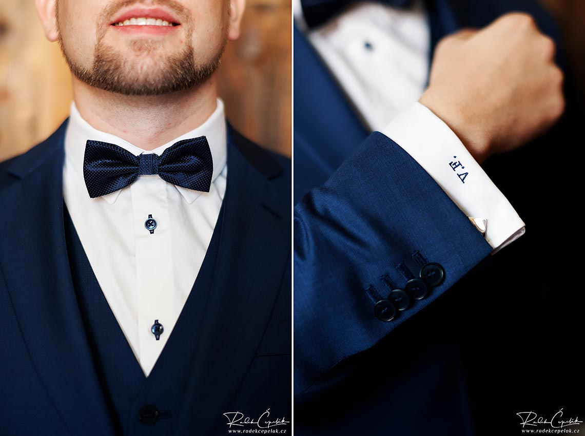 groom in blue suit portrait wedding photography