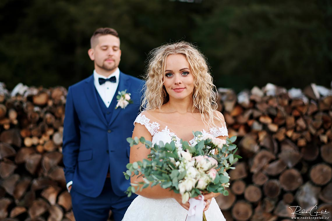 wedding photography of bride and groom