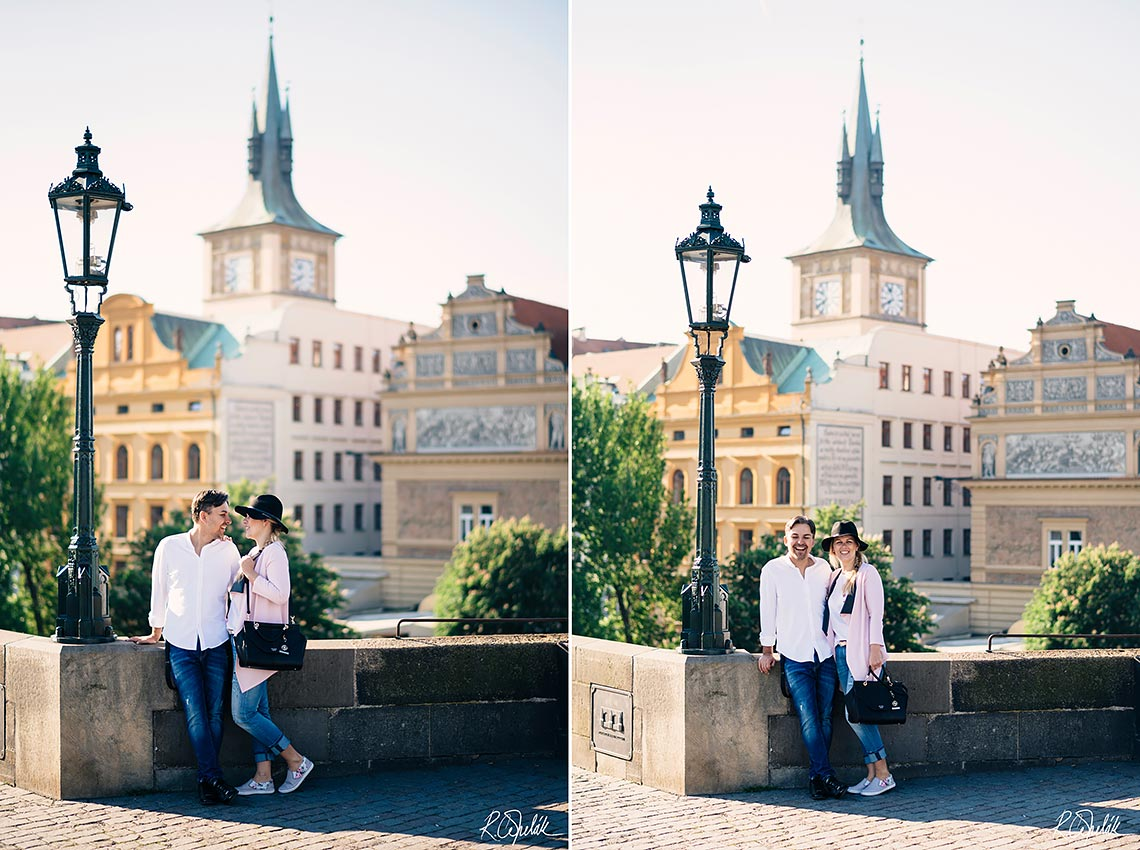prewedding photography in Prague