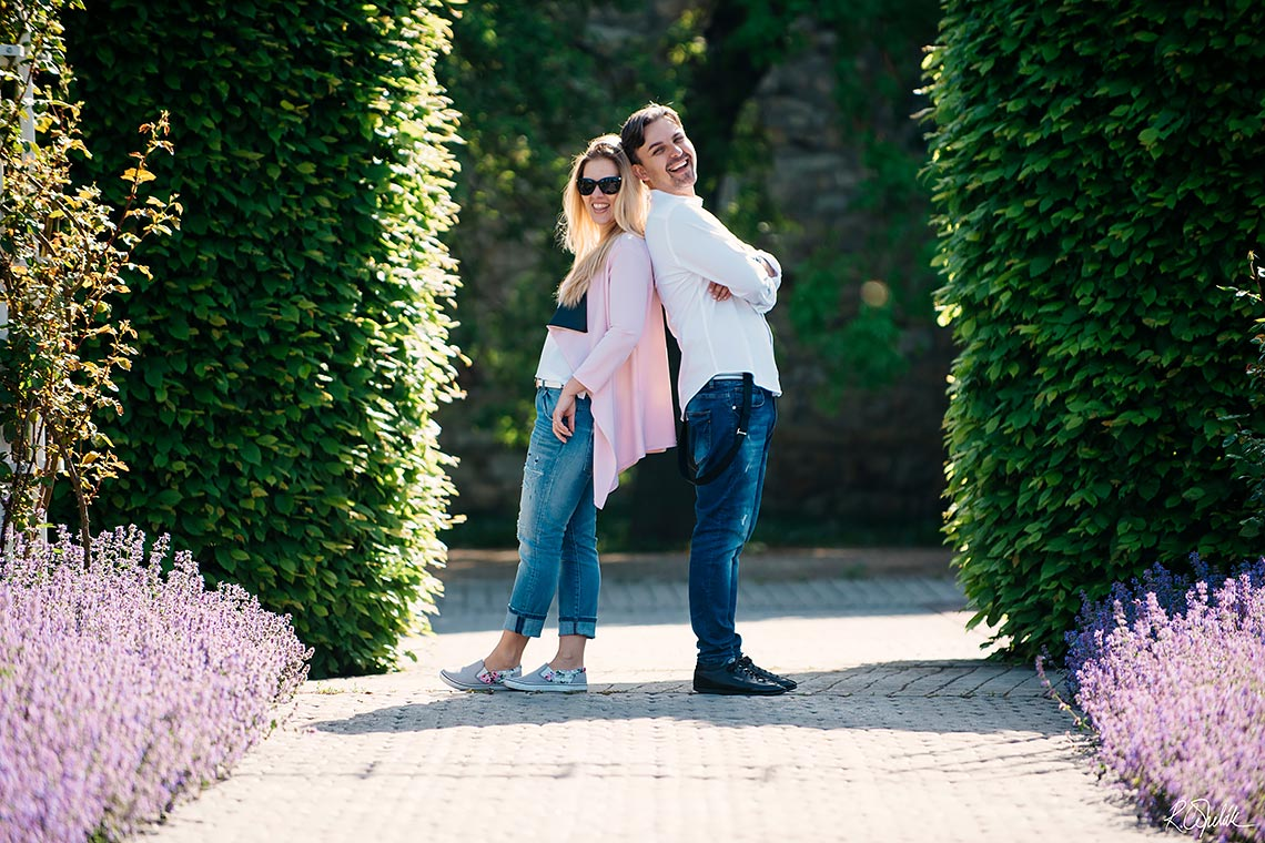 prewedding photography in park