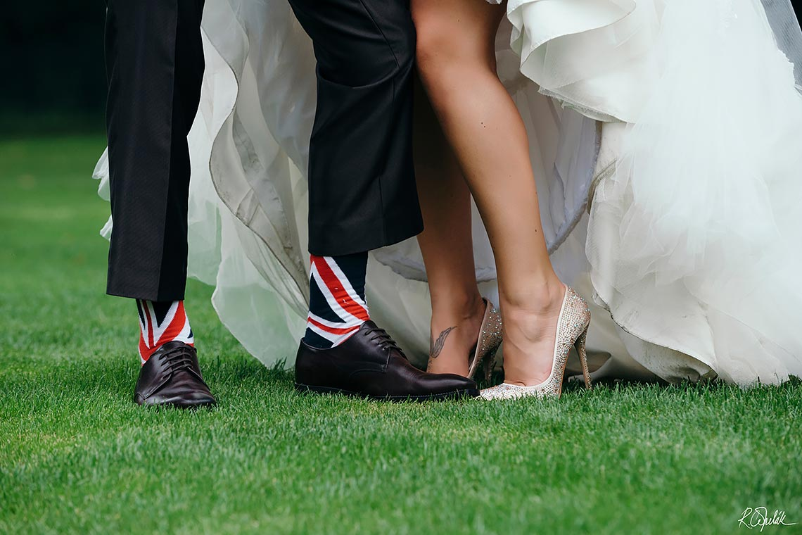 Czech British wedding in Prague