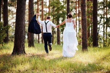 wedding photography in nature